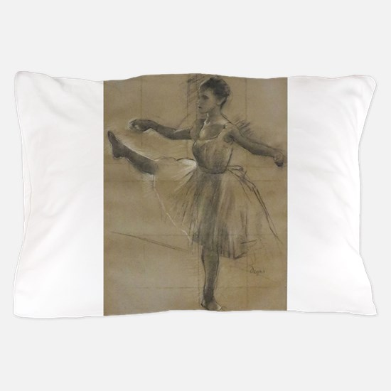 Degas ballet art Pillow Case