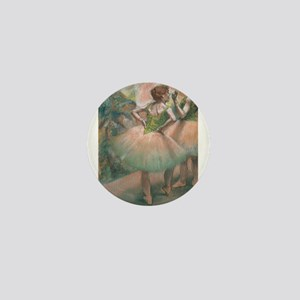 Degas ballet art Mini Button