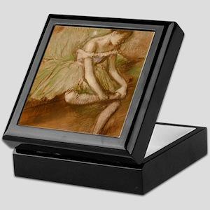 Degas ballet art Keepsake Box