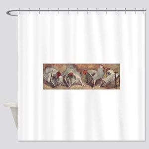Degas ballet art Shower Curtain