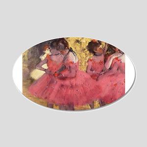 Degas ballet art Wall Decal