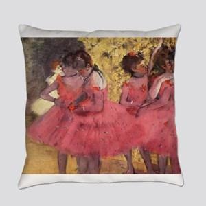 Degas ballet art Everyday Pillow
