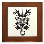 Demon Framed Tile