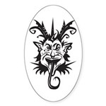 Demon Sticker (Oval)