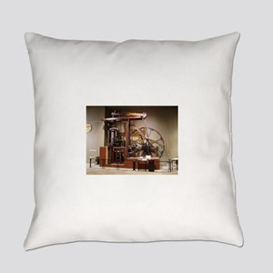 Steam Engine Everyday Pillow