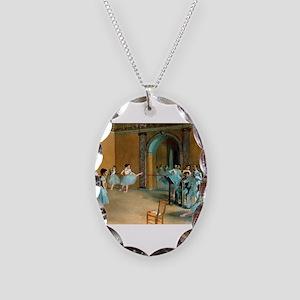 Degas ballet art Necklace