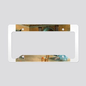 Degas ballet art License Plate Holder