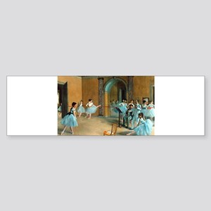 Degas ballet art Bumper Sticker