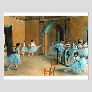 Degas ballet art Posters
