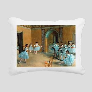 Degas ballet art Rectangular Canvas Pillow
