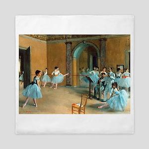 Degas ballet art Queen Duvet