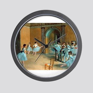 Degas ballet art Wall Clock