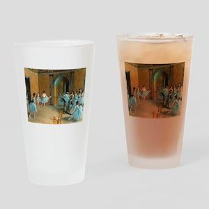 Degas ballet art Drinking Glass