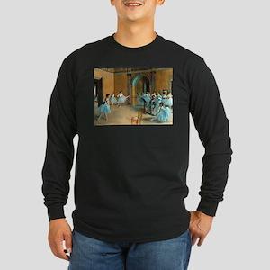 Degas ballet art Long Sleeve T-Shirt
