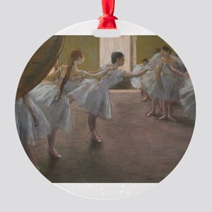 Degas ballet art Ornament