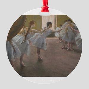 Degas ballet art Ornament