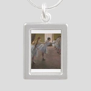 Degas ballet art Necklaces