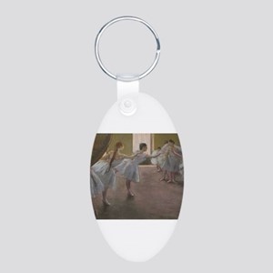 Degas ballet art Keychains