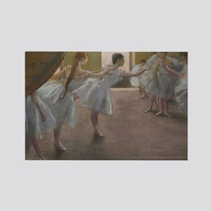 Degas ballet art Magnets