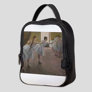 Degas ballet art Neoprene Lunch Bag