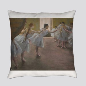 Degas ballet art Everyday Pillow