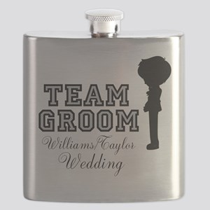 Team Groom Custom Flask