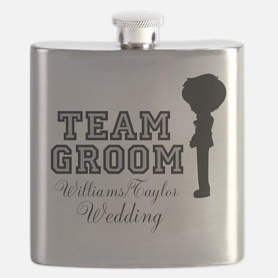 Team Groom Custom Flask