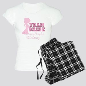 Team Bride Custom Women's Light Pajamas