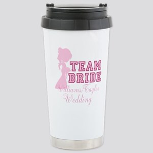 Team Bride Custom Stainless Steel Travel Mug