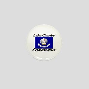 Lake Charles Louisiana Mini Button