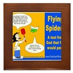 Flying Spider Test Framed Tile