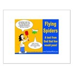 Flying Spider Test Posters Small Poster