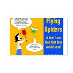 Flying Spider Test 20x12 Wall Decal