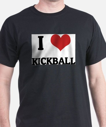 Unique I love kickball T-Shirt