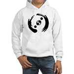 Hooded Sweatshirt With Black Logo