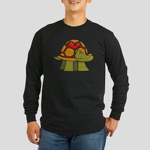 Turtle Shell Heart Long Sleeve T-Shirt