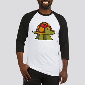 Turtle Shell Heart Baseball Jersey