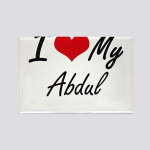 I Love My Abdul Magnets