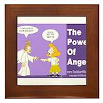 Power Of Angels Framed Tile
