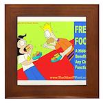 Free Church Food! Framed Tile