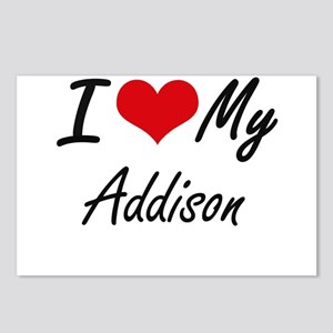 I Love My Addison Postcards (Package of 8)