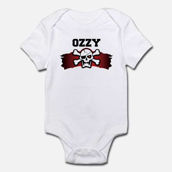 ozzy is a pirate Infant Bodysuit