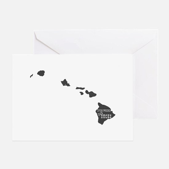 Hawaii Greeting Card