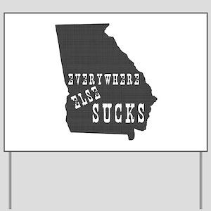 Georgia Yard Sign