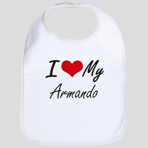 I Love My Armando Bib