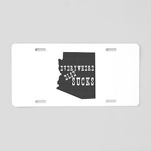 Arizona Aluminum License Plate