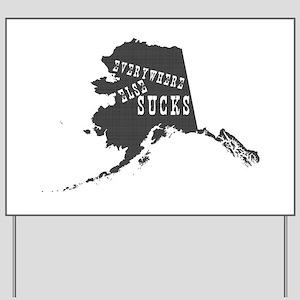 Alaska Yard Sign
