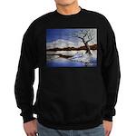 Snowy winter landscape Sweater