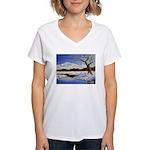 Snowy winter landscape T-Shirt