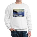 Winter mountain scene Jumper